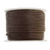 Leather Round Cord 1.5mm Light Brown